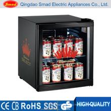 CE / ETL / RoHS Стеклянные двери Cooler Витрина Мини дисплей Холодильник