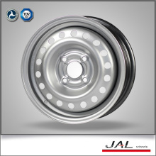 13x5j Silver Finishing Factory Price Car Rims 4 Holes