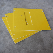 Gelb 3240 Epoxy Fiberglas Insulation Sheet schneiden