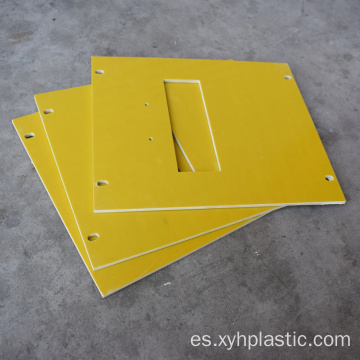 Yellow 3240 Epoxy Fiberglass Insulation cutting cutting