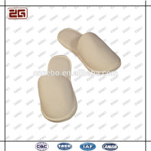 Logo Customized Terry Fabric Washable White Bathroom Hotel Slippers
