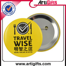 Hot sale soft rubber button badge