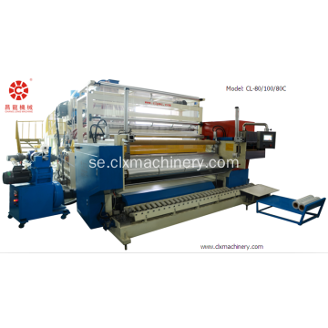 PE Pallet Wrapping Film Stretch Making Machine
