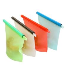 Saco de silicone reutilizável para sanduíches de alimentos frescos