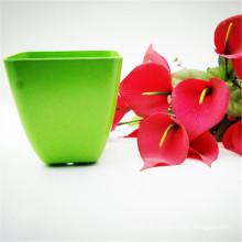Home garden supplies Bamboo fiber flower pot