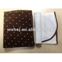 CHANGING PAD COVER WITH WATERPROOF LINERS