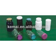 Frasco de plástico para cápsula