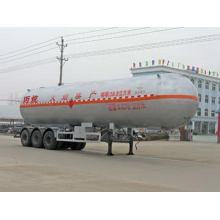 Remorque semi-remorque de transport de gaz liquéfié de 13m