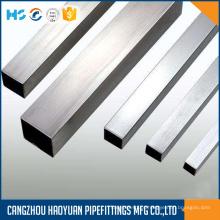 Tubulação de seção oca retangular de aço inoxidável 316L