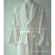 100% algodón, albornoz del Hotel Br-090628s