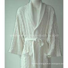 100% Cotton Hotel Bathrobe Br-090628s