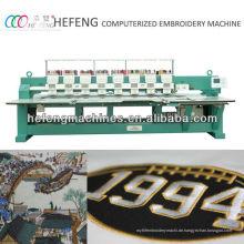 8 Kopf Hochgeschwindigkeits-computerisierte flache Stickmaschine