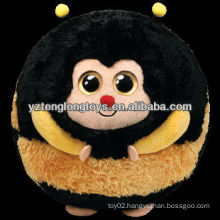 Wholesale cute animal set stuffed bee plush ball toy