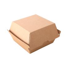 Caixas de papelão ondulado para embalagem de hambúrguer