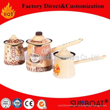 Sunboat Geschirr / Küche Appliance Qualität Emaille Kaffeekanne
