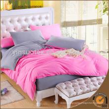 Única cama feita na China 100% algodão 100% algodão luz verde cama conjunto