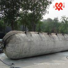 high buoyancy sunken vessel marine rubber salvage airbag/pontoon