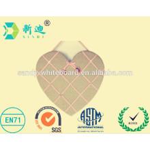 Heart design bulletin boards