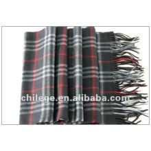 winter cashmere chacked scarf