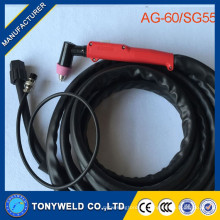 Découpe plasma plasma AG60 Torche Toute la torche AG-60 (SG-55) -5M dans les torches de soudage