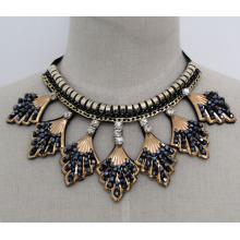 Lady Fashion Charm Crystal Costume Jewelry Collar Necklace (JE0165)