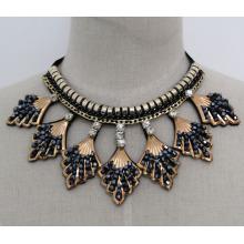 Леди мода Шарм Кристалл костюм ювелирные изделия воротник ожерелье (JE0165)