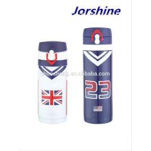 2015 high quality 12oz printed, popular eagle vacuum flask