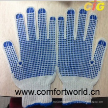 Cotton Gloves with Single/Double Dots (SSAQ04321)