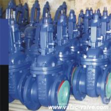 Manivela Pn16 y Pn40% Pn64 GS-C25 y A216 Válvula de compuerta Wcb