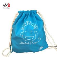 Bonne vente sac de sac à dos de toile de cadeau de Noël