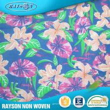 Colorful Printing Polypropylene Non Woven Cloth Material Fabric