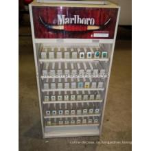Kommerzielle Shop Zigarette Einzelhandel Einzigartiges Holz Und Acryl Standing Tobacco Display Stand