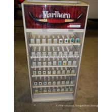 Commercial Shop Cigarette Retail Unique Wood And Acrylic Floorstanding Tobacco Display Stand