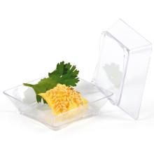 Plato de plástico PP / PS plato desechable plato cuadrado