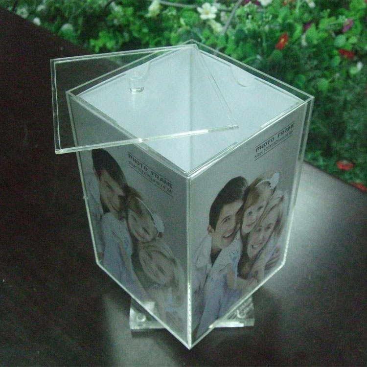 Acrylic Cube Picture Frames