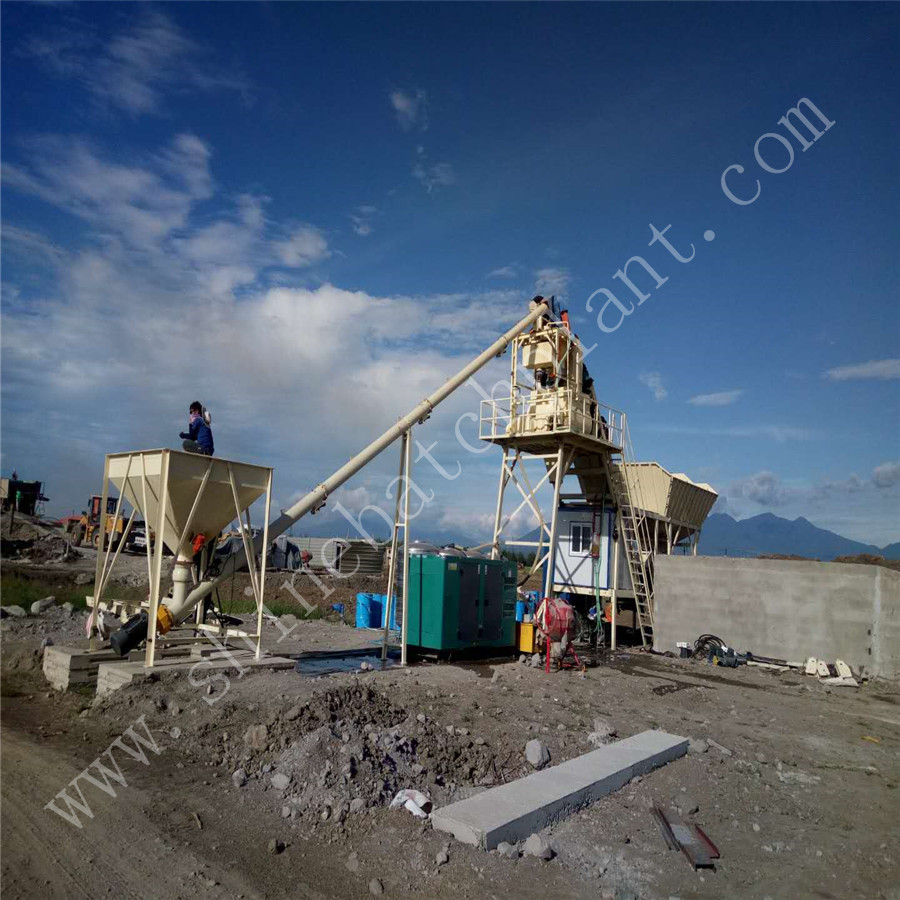 25 Protable Concrete Batching Plant