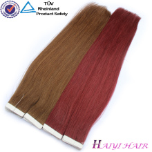 Top Quality Virgin Hair color 30 inch remy tape hair extensions