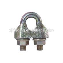 EN 13411-5 clips de câble métallique malléable galvanisé