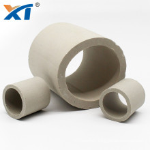chemical industrial 6mm ceramic raschig ring with high acid resistance