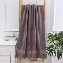 Adult Thicken Soft Cotton Bath Towel Beach Towel