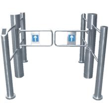 Alta qualidade balanço portão/supermercado balanço mecânico portão/aço inoxidável balanço portão