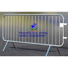 Barreiras de controle de pedestres galvanizadas a quente