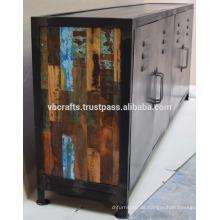 Vintage Industrie-Metall-Sideboard