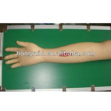 Modelo de braço de prática de sutura cirúrgica avançada ISO, braço de sutura