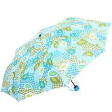 Starker windundurchlässiger fördernder kundenspezifischer faltender Regenschirm mit Logo
