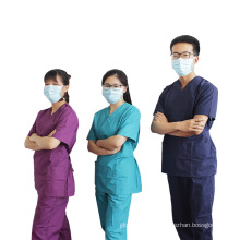 Diseños de algodón de uniforme de enfermera de moda