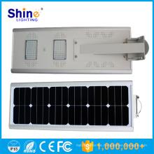 IP65 Clasificación IP y CE, RoHS, UL, CCC Certificación 20w todo en un solar integrado led luces de calle precio
