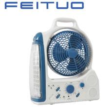 Ventilateur, ventilateur Rechargeable, éclairage de secours, a conduit ventilateur