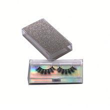 CH06L Hitomi eyelash packaging box private label Wholesale 4d Silk Faux Mink Fur Eyelashes Mink Lashes