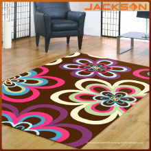 Superficie de nylon con alfombra de respaldo de látex